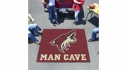 Fan Mats 14476  NHL - Arizona Coyotes 5' x 6' Man Cave Tailgater Mat