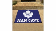 "Fan Mats 14493  NHL - Toronto Maple Leafs 33.75"" x 42.5"" Man Cave All-Star Mat"