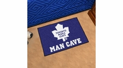 "Fan Mats 14494  NHL - Toronto Maple Leafs 19"" x 30"" Man Cave Starter Mat"