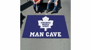 Fan Mats 14495  NHL - Toronto Maple Leafs 5' x 8' Man Cave Ulti-Mat