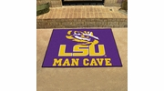 "Fan Mats 14565  Louisiana State University Tigers 33.75"" x 42.5"" Man Cave All-Star Mat"