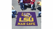 Fan Mats 14566  Louisiana State University Tigers 5' x 6' Man Cave Tailgater Mat