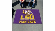 Fan Mats 14567  Louisiana State University Tigers 5' x 8' Man Cave Ulti-Mat