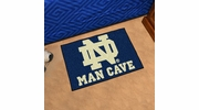 "Fan Mats 14580  University of Notre Dame Fighting Irish 19"" x 30"" Man Cave Starter Mat"