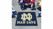 Fan Mats 14582  University of Notre Dame Fighting Irish 5' x 6' Man Cave Tailgater Mat