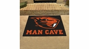 "Fan Mats 14593  Oregon State University Beavers 33.75"" x 42.5"" Man Cave All-Star Mat"