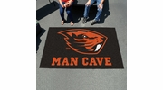 Fan Mats 14595  Oregon State University Beavers 5' x 8' Man Cave Ulti-Mat