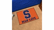 "Fan Mats 14604  Syracuse University Orange 19"" x 30"" Man Cave Starter Mat"