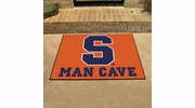 "Fan Mats 14605  Syracuse University Orange 33.75"" x 42.5"" Man Cave All-Star Mat"