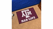"Fan Mats 14608  Texas A&M University Aggies 19"" x 30"" Man Cave Starter Mat"