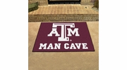"Fan Mats 14609  Texas A&M University Aggies 33.75"" x 42.5"" Man Cave All-Star Mat"