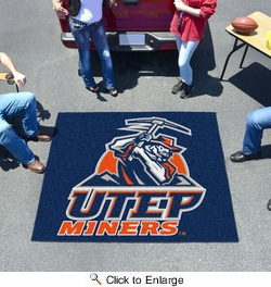 Fan Mats 1462  UTEP - University of Texas El Paso Miners 5' x 6' Tailgater Mat / Area Rug
