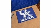 "Fan Mats 14652  University of Kentucky Wildcats 19"" x 30"" Man Cave Starter Mat"