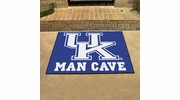 "Fan Mats 14653  University of Kentucky Wildcats 33.75"" x 42.5"" Man Cave All-Star Mat"