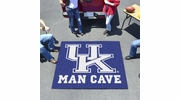 Fan Mats 14654  University of Kentucky Wildcats 5' x 6' Man Cave Tailgater Mat