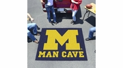 Fan Mats 14670  University of Michigan Wolverines 5' x 6' Man Cave Tailgater Mat