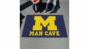 Fan Mats 14671  University of Michigan Wolverines 5' x 8' Man Cave Ulti-Mat