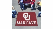 Fan Mats 14686  University of Oklahoma Sooners 5' x 6' Man Cave Tailgater Mat