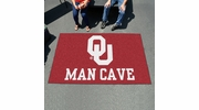 Fan Mats 14687  University of Oklahoma Sooners 5' x 8' Man Cave Ulti-Mat