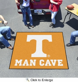 Fan Mats 14698  University of Tennessee Volunteers 5' x 6' Man Cave Tailgater Mat