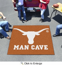 Fan Mats 14702  University of Texas Longhorns 5' x 6' Man Cave Tailgater Mat