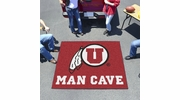 Fan Mats 14706  University of Utah Utes 5' x 6' Man Cave Tailgater Mat