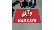 Fan Mats 14707  University of Utah Utes 5' x 8' Man Cave Ulti-Mat