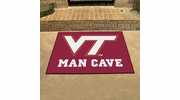 "Fan Mats 14713  Virginia Tech Hokies 33.75"" x 42.5"" Man Cave All-Star Mat"
