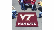 Fan Mats 14714  Virginia Tech Hokies 5' x 6' Man Cave Tailgater Mat