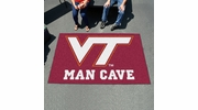Fan Mats 14715  Virginia Tech Hokies 5' x 8' Man Cave Ulti-Mat