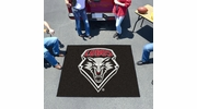 Fan Mats 1473  UNM - University of New Mexico Lobos 5' x 6' Tailgater Mat / Area Rug