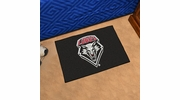 "Fan Mats 1474  UNM - University of New Mexico Lobos 19"" x 30"" Starter Series Area Rug / Mat"