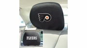 "Fan Mats 14782  NHL - Philadelphia Flyers 10"" x 13"" Head Rest Covers"