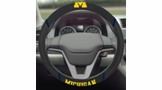 "Fan Mats 14822  University of Michigan Wolverines 15"" Steering Wheel Cover"