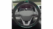 """Fan Mats 14864  Michigan State University Spartans 15"""" Steering Wheel Cover"""