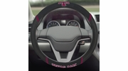 "Fan Mats 14894  Texas A&M University Aggies 15"" Steering Wheel Cover"