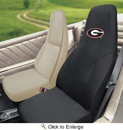 Fan Mats 14985  University of Georgia Bulldogs Seat Cover (1 Cover)