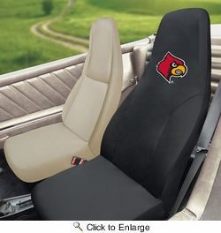 Fan Mats 14991  University of Louisville Cardinals Seat Cover (1 Cover)