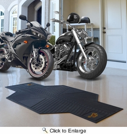 "Fan Mats 15259  University of Wyoming Cowboys 82.5"" x 42"" Motorcycle Mat"