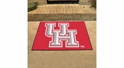 """Fan Mats 1526  UH - University of Houston Cougars 33.75"""" x 42.5"""" All-Star Series Area Rug / Mat"""