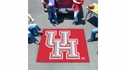 Fan Mats 1527  UH - University of Houston Cougars 5' x 6' Tailgater Mat / Area Rug