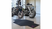 "Fan Mats 15346  MLB - Atlanta Braves 82.5"" x 42"" Motorcycle Mat"