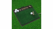 "Fan Mats 15468  NFL - New Orleans Saints 20"" x 17"" Golf Hitting Mat"