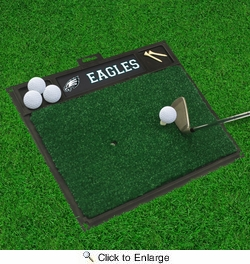 "Fan Mats 15472  NFL - Philadelphia Eagles 20"" x 17"" Golf Hitting Mat"