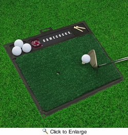 "Fan Mats 15514  University of South Carolina Gamecocks 20"" x 17"" Golf Hitting Mat"
