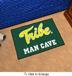 """Fan Mats 15543  College of William & Mary Tribe 19"""" x 30"""" Man Cave Starter Mat"""