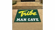 """Fan Mats 15544  College of William & Mary Tribe 33.75"""" x 42.5"""" Man Cave All-Star Mat"""
