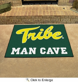 "Fan Mats 15544  College of William & Mary Tribe 33.75"" x 42.5"" Man Cave All-Star Mat"