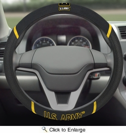 "Fan Mats 15692  U.S. Army 15"" Steering Wheel Cover"