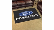 Fan Mats 15751  Ford Racing on Black 4' x 6' Area Rug